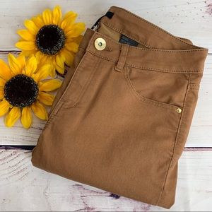 H&M Coffee Colored Skinny and Slim Pants NWOT